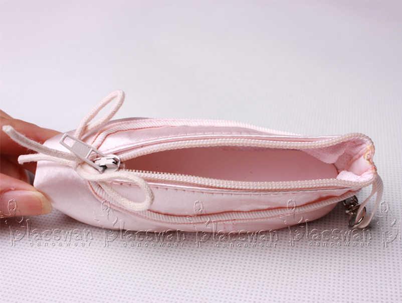 סאטן בלט keyring מקצועי נעלי פוינט מפתח טבעת בלט נעל מפתח שרשרת חתונה מזכרות בלרינה מטבע ארנק מתנות בלט