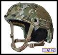 M/lg multicam camo deluxe kevlar à prova de balas nij nível iiia rápido relatório de teste balístico capacete com hp branco e 5 anos garantia