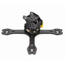 HOBBYMATE X160 FPV Racing Drone Mini Quadcopter Carbon Fiber Frame Kit Support 1306 1806 2204 2205 motors