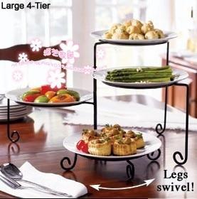 moda prodotti di ferro piatto porta disco torta stand cremagliera spuntino  cremagliera uso quotidiano a casa 5d429bb6b9c5