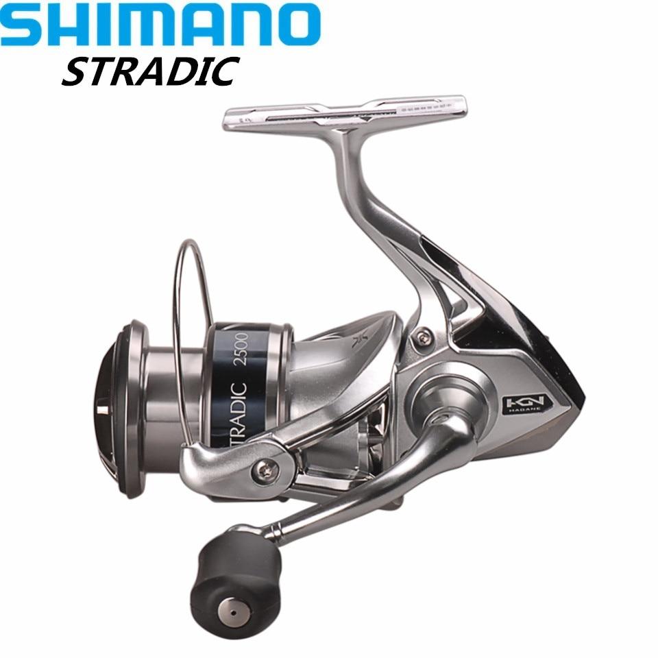 купить 100% Shimano STRADIC FK2500HG/C3000HG/4000XG/C5000XG 6.0:1/6.2:1 Spinning Fishing Reel HAGANE GEAR Carretilha Moulinet Peche недорого