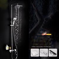 belt rack shower suite bathroom faucet copper shower shower set