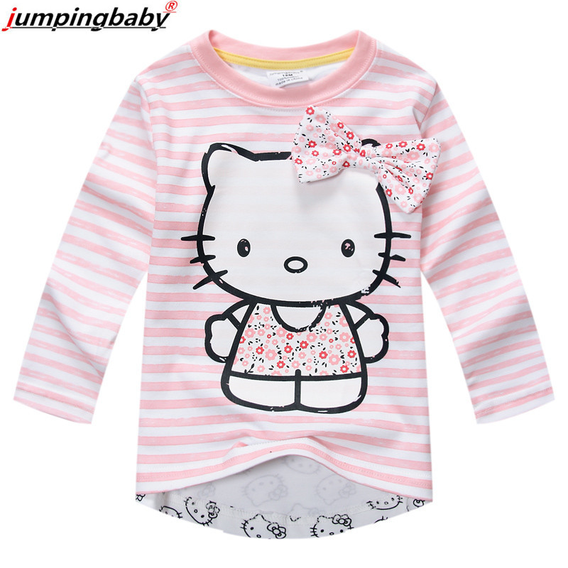 Jumpingbaby Kids Children Baby Clothes Toddler Girl T-shirt