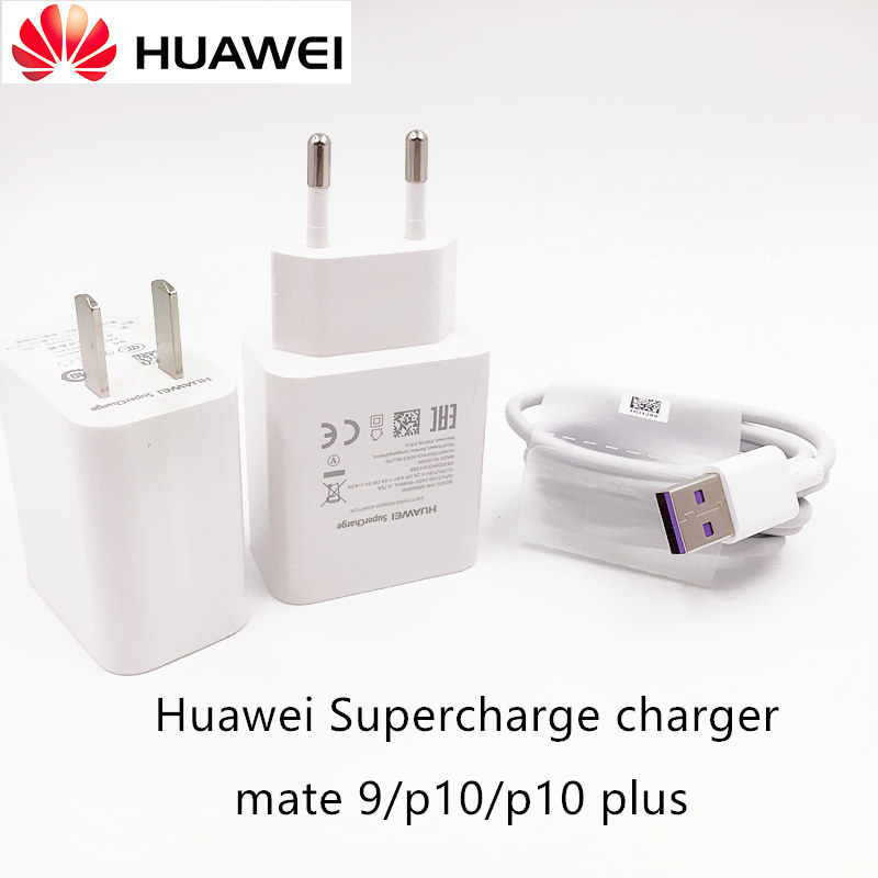 Original Huawei Mate 10 pro Charger 5V 4.5A EU/US Quick Fast SuperCharger Usb Type-C Cable For Mate 10 Pro p10 plus lite