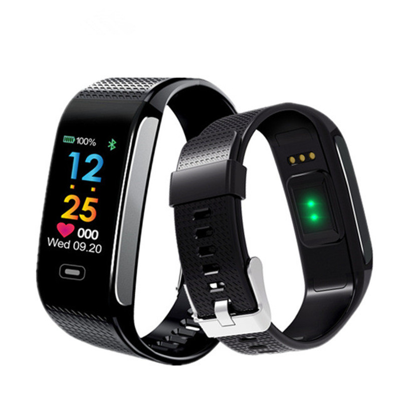 NEW Smart Band Blood Pressure Heart Rate Monitor Wrist Watch Waterproof Bluetooth Fitness Bracelet Tracker Pedometer Wristband цена 2017