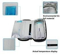 2016 tragbares Insulin Kühltasche Diabetiker Insulin Reise Kälter Fall Kühlbox Bolsa Termica 4-24 grad celsius display