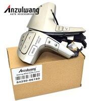 ANZULWANG Bluetooth Steering Wheel Audio Control Button Switch 84250 06160 For Toyota Camry Corolla Hilux Vigo Highlander Innova