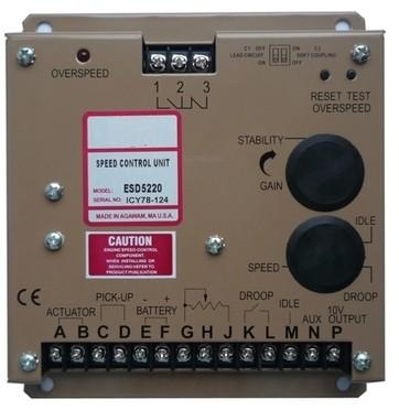 Free Shipping ESD5220 SPEED CONTROL UNIT  Generator accessories speed controller governor speed control board