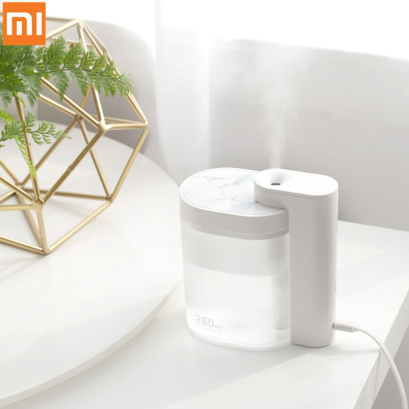 Xiaomi Sothing Desktop humidifier Ultrasound mute USB Diffuser 260ML Transparent Tank Two humidification modes Desktop Diffuser image