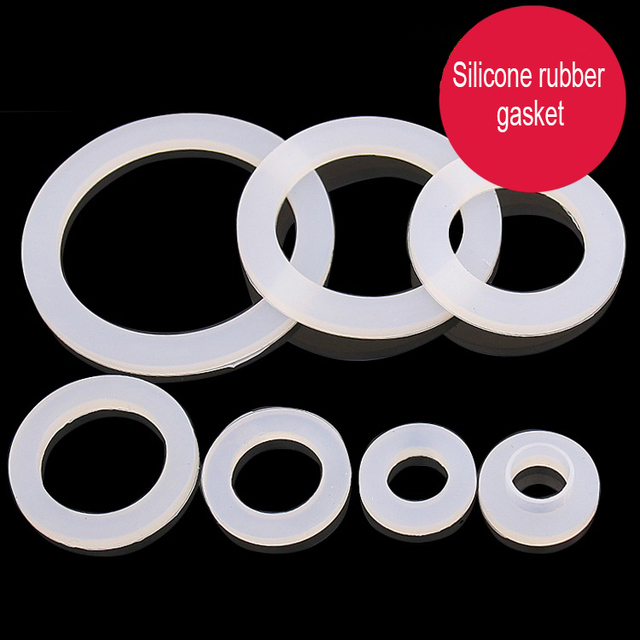 15x24x3mm flat silicone rubber gasket,3/4 inch DN20 sealing flat o ...