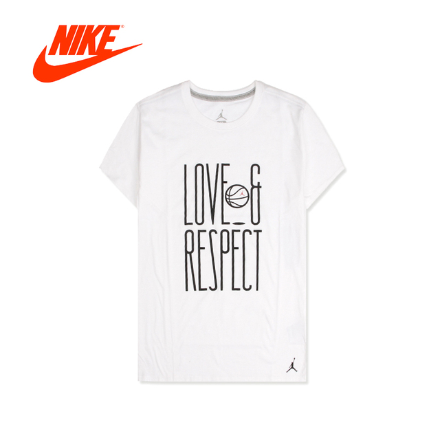 Original 2018 New Arrival Authentic NIKE Men s T-shirts short sleeve  Sportswear Leisure Breathable Quick Dry AQ4891-010-100 603c0359ecac
