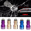 Newest Safety hammer car usb charger dual usb 3.1A car-charger full metal car cigarette lighter 2 port usb car battery charger