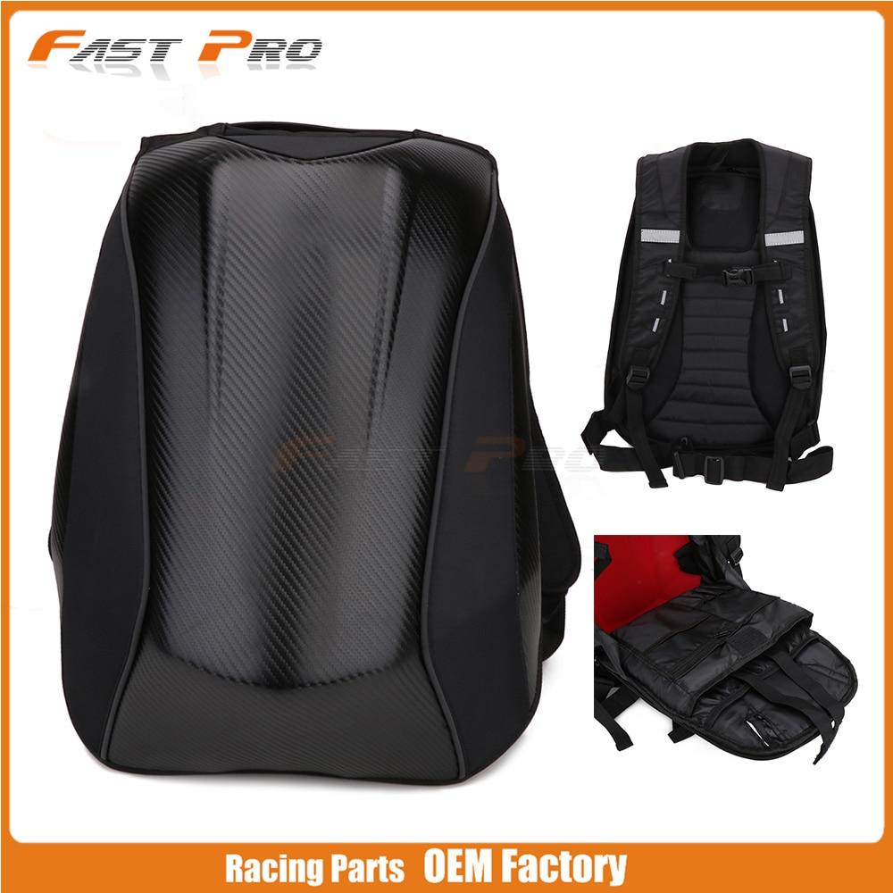 Sac à dos imperméable universel de moto noire sacs de moto pour KTM SUZUKI HONDA YAMAHA CB400 NINJA GSXR YZF R1 R6 FZ1
