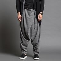 Summer Thin Harem Pants Men Loose Baggy Pants Casual Dance Brand Men S Size Sagging Pants