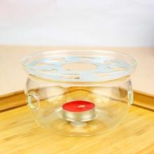 Warmer Teapot Base Glass 1027 Tea-Accessories JN Manual Heating-Insulation Transparent