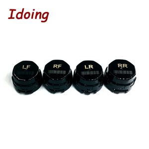 Image 4 - IDoing Special TPMS Newest technology Car TPMS Tire Pressure Monitoring System with mini Inner sensor Auto support Bar and PSI