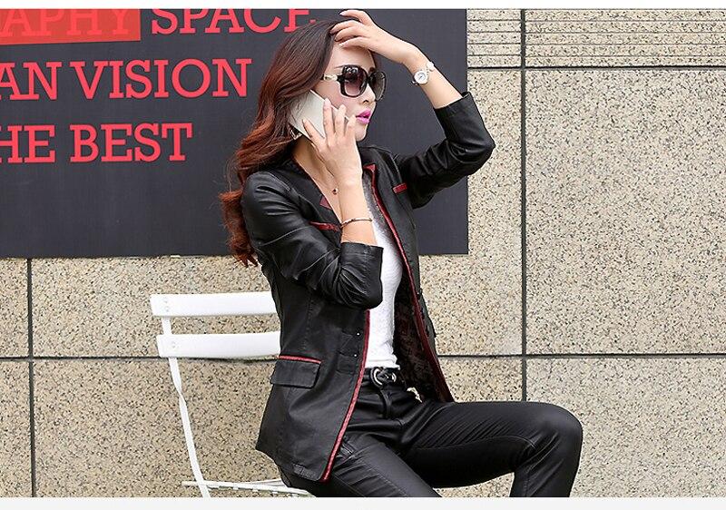 Outwear Casaco longue 5xl Manteau Cuir black 2018 À Red Chaude Green Mi Femme Side Taille Gq1288 Feminino Side Plus Black Vente La Mode Femmes Veste En Parka apUw6fq
