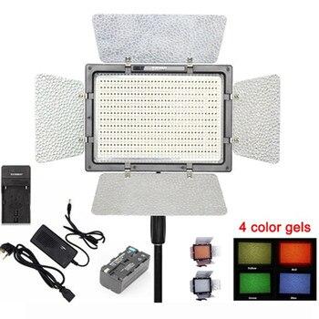 YONGNUO YN900 Pro LED Video Light 5500K Photo Camera Lamp APP Control 900Pcs LED Studio Lighting Photography+Battery+Adapter цена 2017
