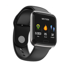 Smart Watch Bracelet Ports Waterproof Fitness Heart Rate Blood Health Monitoring Pressure Step Remote