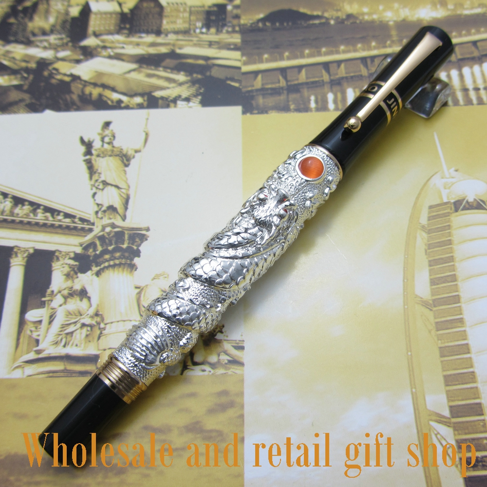 pen roller pen  high quality jin hao flying dragon Office gift pen free shipping jin hao high quality classic ancient