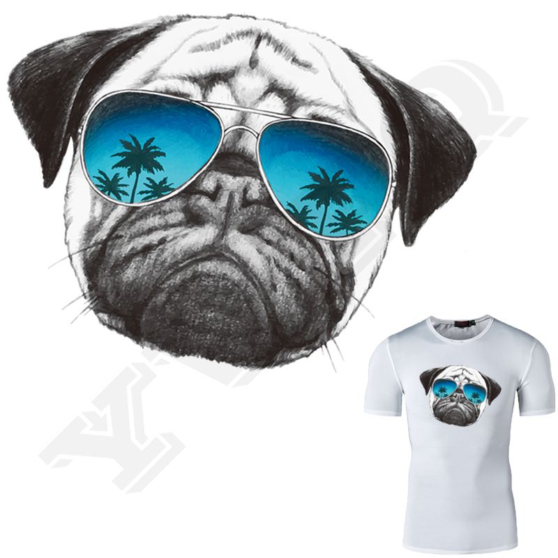 Pugs T-Shirt Hooded with A Pocket Rope Hat Customization Fashion Novelty 3D Mens