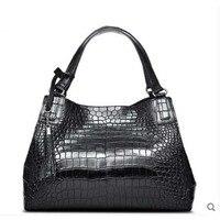 Cestbeau crocodile belly food basket for ladies bag hand made ladies bag single shoulder bag shopping handbag Two belly