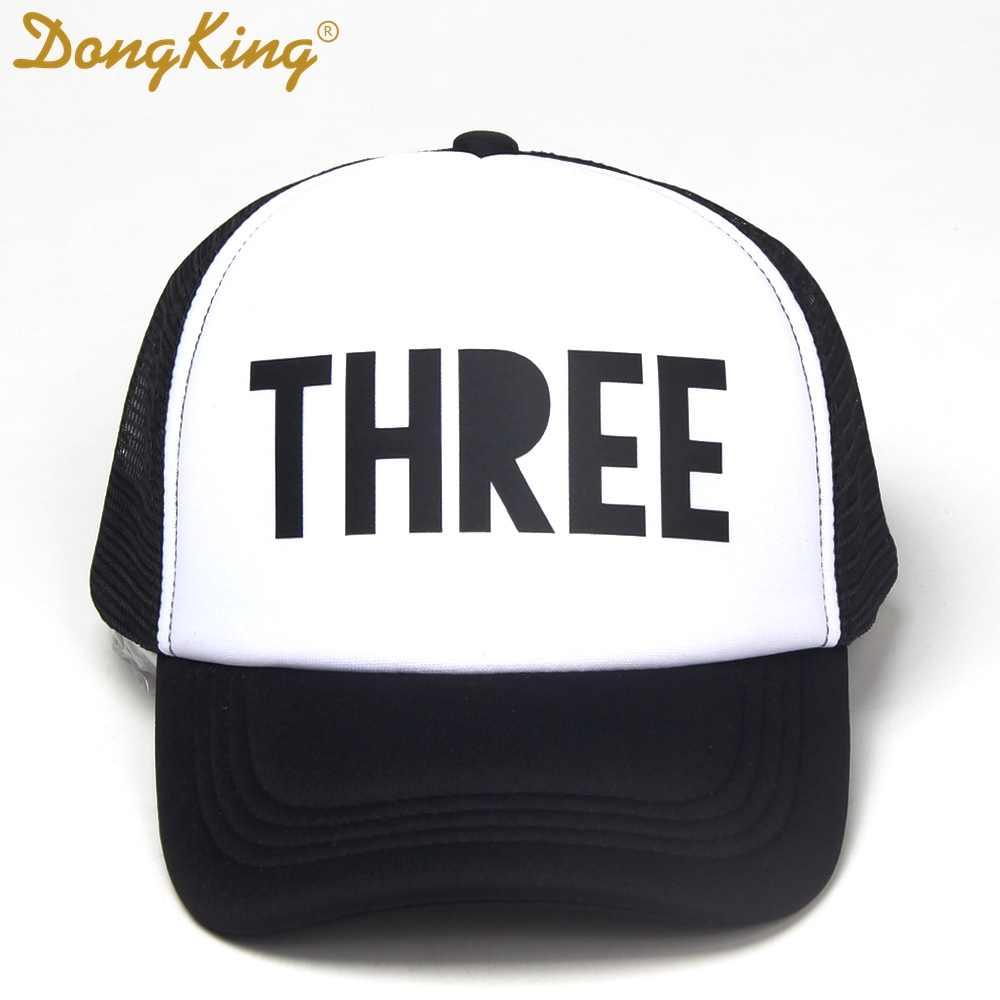 Детская бейсболка DongKing, первый праздничный колпак, крутой детский колпачок, 1-й день рождения, третий день рождения, шапки для мальчиков и девочек, подарок на день рождения