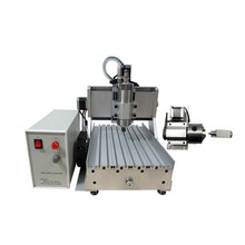 3 axis 4axis Mini CNC Milling Machine Ball Screw 800W Spindle CNC Router Engraver with Limit Switch for Metal Woodworking
