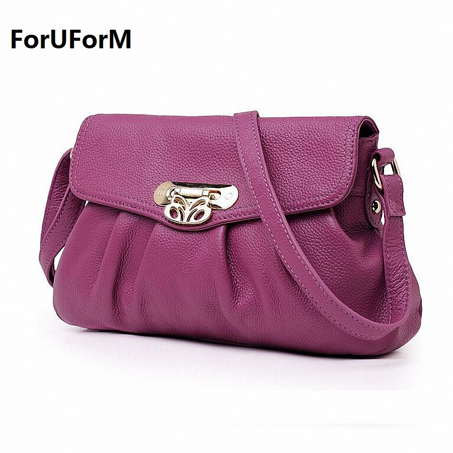 Crossbody Bag Purses and Women Genuine Leather Designer Handbags High Quality Leather Shoulder Bags Women Handbag LI-737