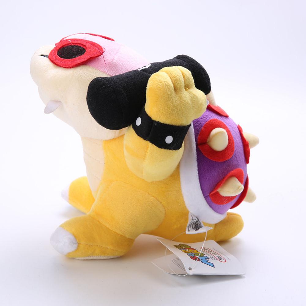 87b083da002 New Super Mario Bros Roy Koopa Bowser Koopalings Glasses Plush Doll ...