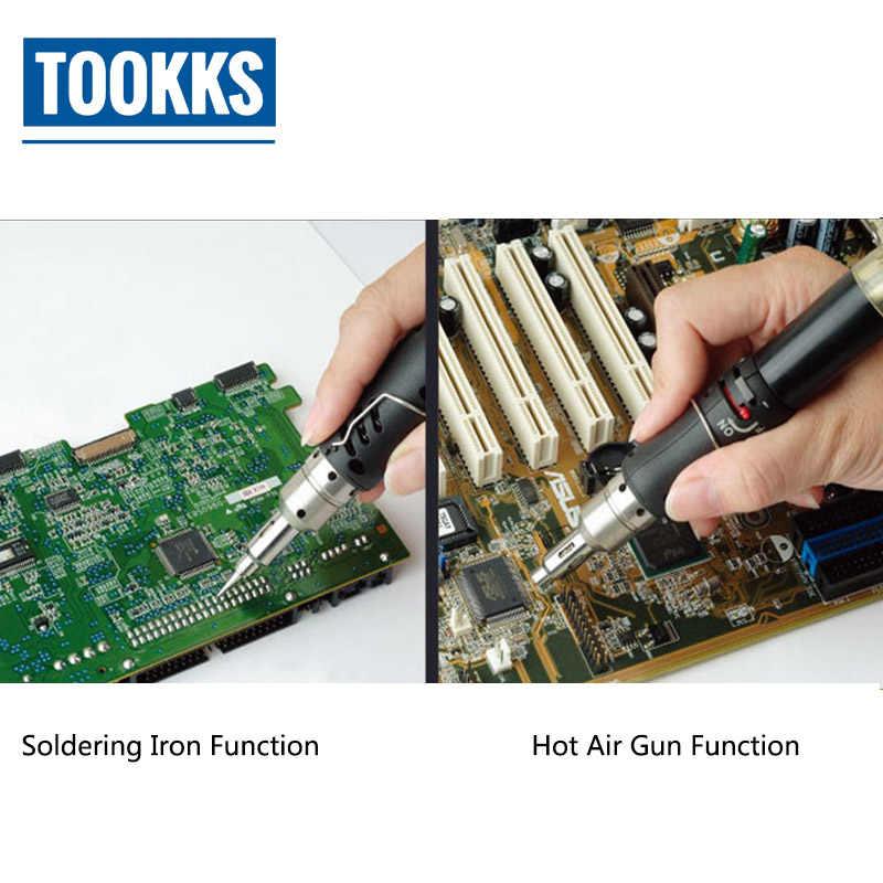 הצתה אוטומטית גז מלחם לפיד GS-210 אור מלחם עבור PCB האם הלחמה תיקון כלים