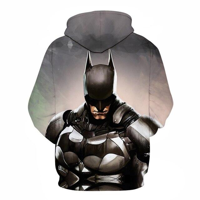 Avengers 3 Infinity War Iron Man Superhero batman Hoodie Sweatshirt For Men 3D Print Hoodies Streetwear Casual Cospaly Hoodies 3