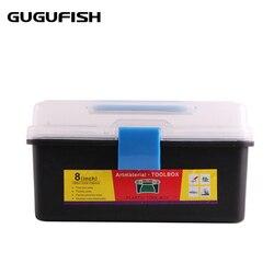 GUGUFISH narzędzie połowowe box dwustronny o wysokiej wytrzymałości przezroczysty widoczny plastikowy przynęta wędkarska