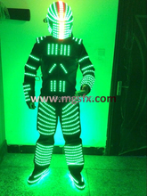 Free shipping LED Dance Costumes / stage performance LED Clothing / Glowing / Luminous Suits