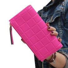 ChengEVA 1PC Fashion Women Leather Clutch Wallet Long Card Holder Case Purse Handbag Fashion Brand Hot Sale Attractive Nov 16