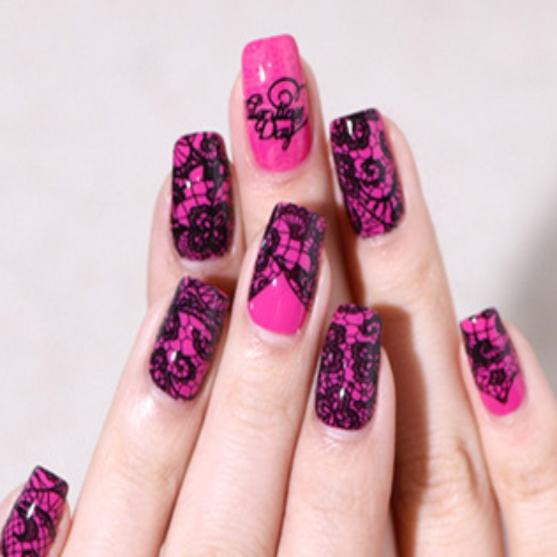 Nail Art Stamping10designs 1pcs Stainless Steel Image Plates And