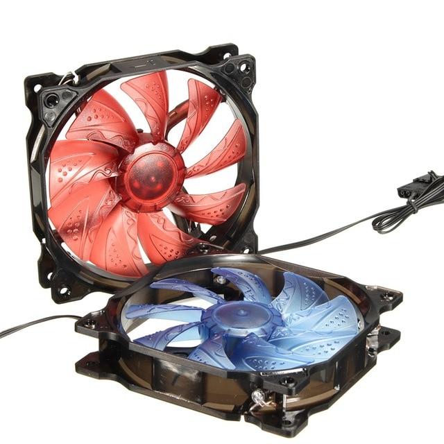 CPU Cooler Fan Radiator 120mm PWM 3Pin/4pin 12V LED Light Heatsink Computer Case Fan Air Cooling For Hyper Z600/212/V10/V8