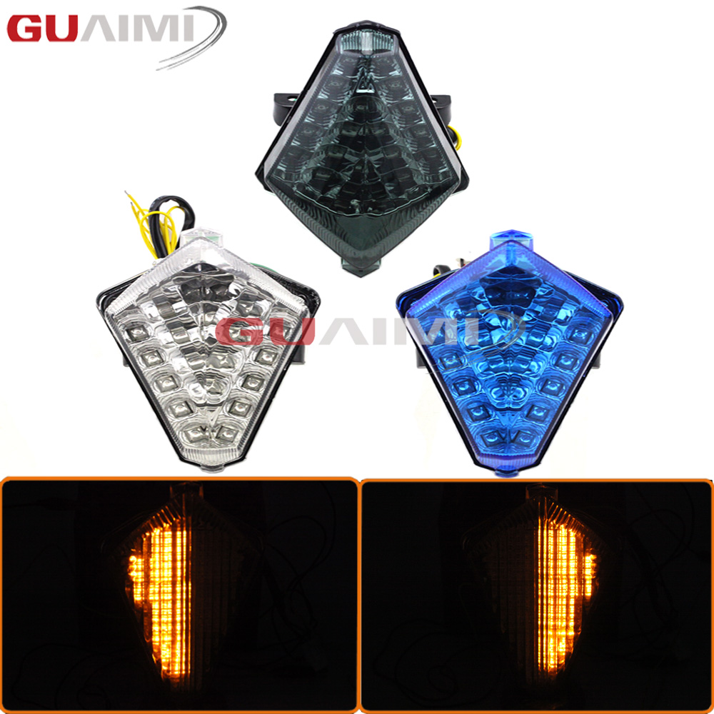 For Yamaha YZFR1 2007 2008 YZF-R1 YZF R1 Motorcycle ABS Tail Light Integrated Led Running Indicator Brake Turn Signal Lamp