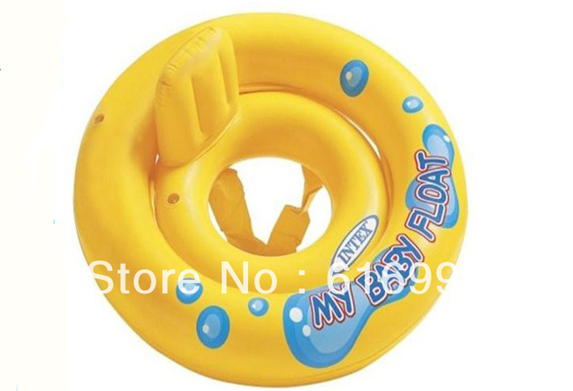 Free shipping Car child boat with a trumpet child seat baby swim ring dropshipping,wholesale