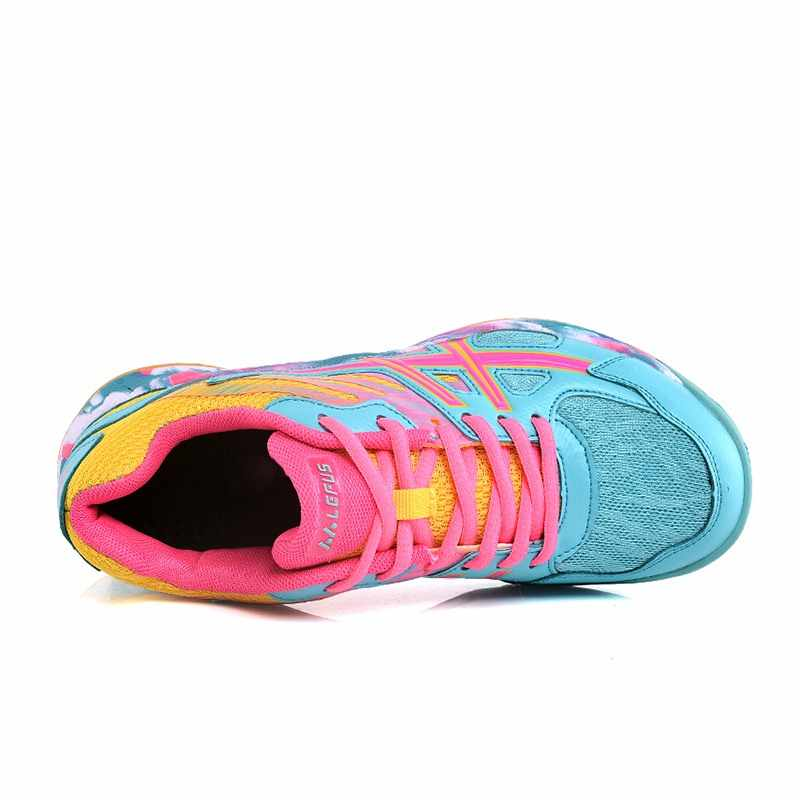 Taoffen Small Size 35-45 Daily Colorful Unisex Casual Badminton Shoes Women/Men Thick Bottom Sneakers Club Footwear Shoes