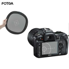 """FOTGA 12"""" 18% Grey/White Balance Card Two Sides Double Face Focus Board for Photograph equipment"""