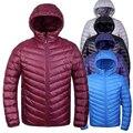 2015 New Arrival Men Winter Down Jacket 90% White duck down Jackets Men Outdoors Parka Warm Feather Coat Plus Size S-3XL
