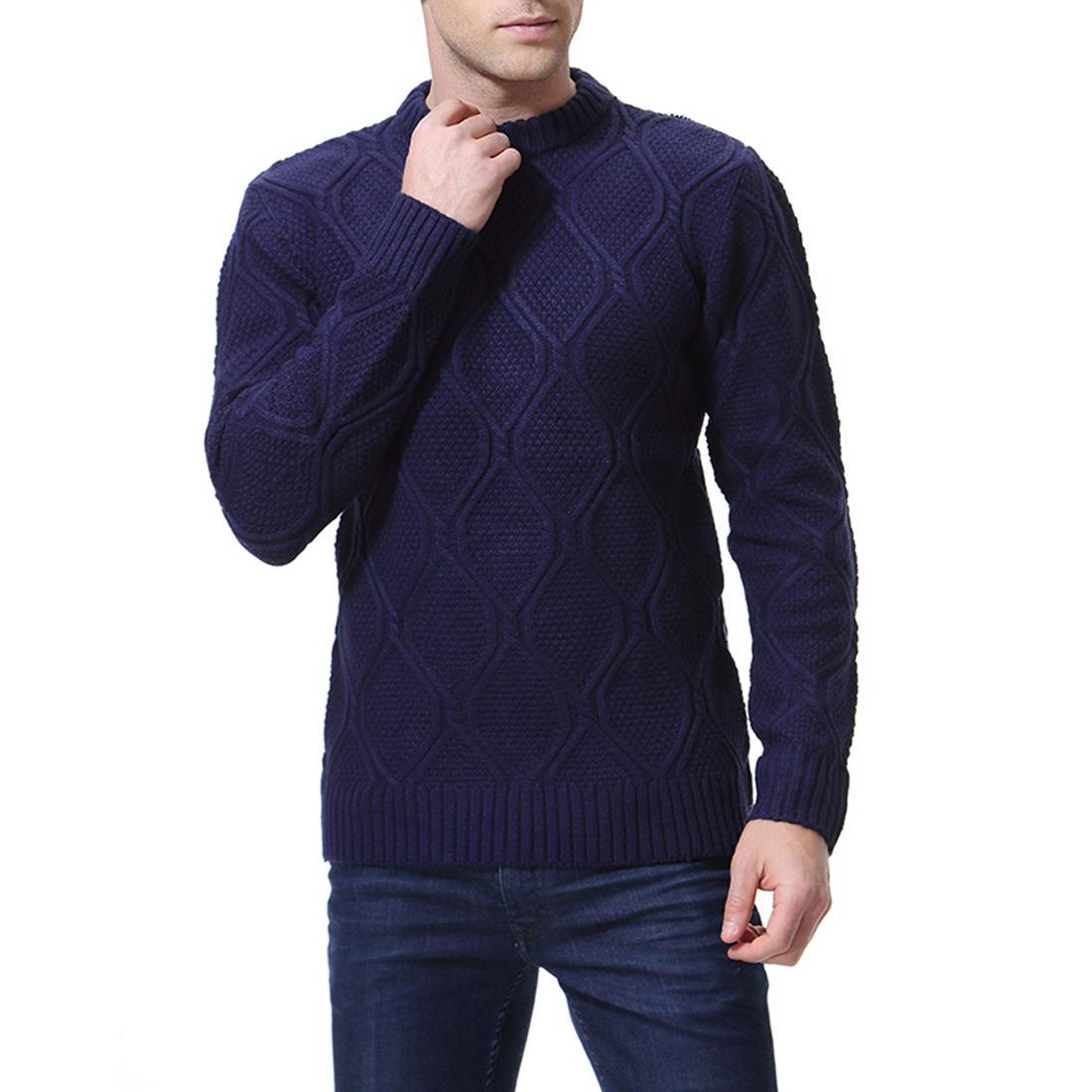 צבע סרוג חולצה גברים 5