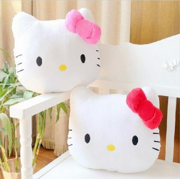 1Pc 40cm Cute Lovely Juguetes Pillow Soft Stuffed Hello Kitty Pusheen Plush Toys Cushion Soft ...