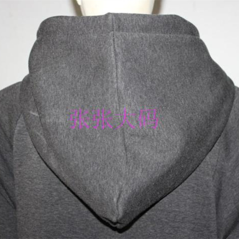 Free Shipping 2019 Fashion Plus Size Winter Thick Warm Thermal Long-sleeve Maxi S-10XL Customized Fleece Stretch Hooded Dresses