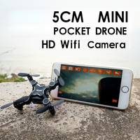 Mini Drone FPV Real Time Video Quadcopte RC Toy Dron With 2MP HD Wifi 200W Camera