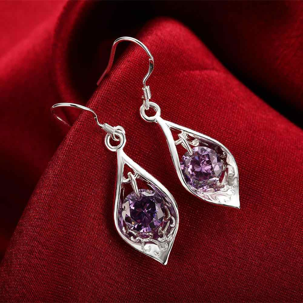Accessories New Design silver plated jewelry Female's earrings Ornaments Brazilian Pendant Dangle earring