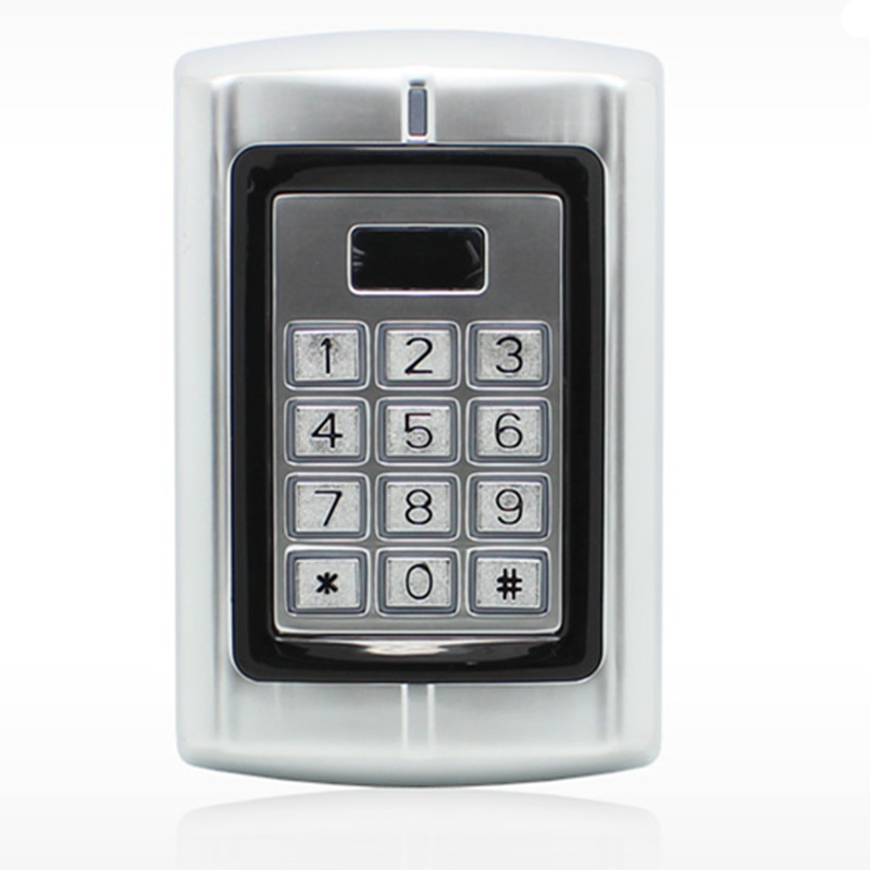 2000 User Metal  125KHZ ID Card Password Non-Contact Rain-proof   Door Access Control