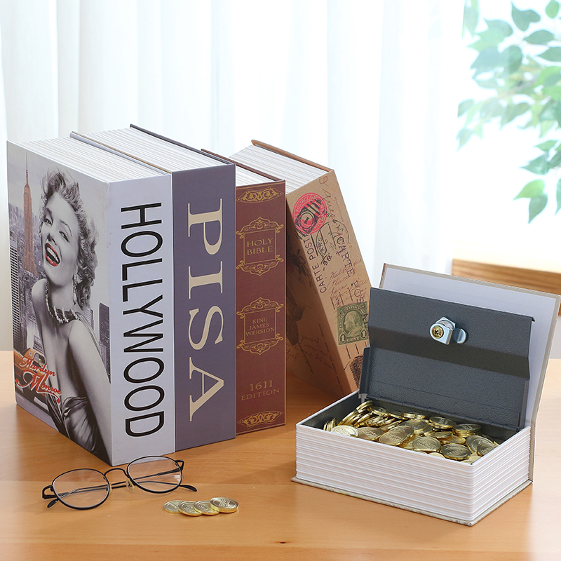 24x15.7x5.5cm Dictionary Secret Book Security Dictionary Money Hidden Secret Security Sa ...