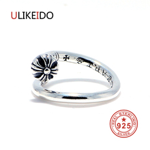 Фотография 100% Pure 925 Sterling Silver Jewelry Nail Rings Punk Mens Signet Ring Special Gift Free shipping